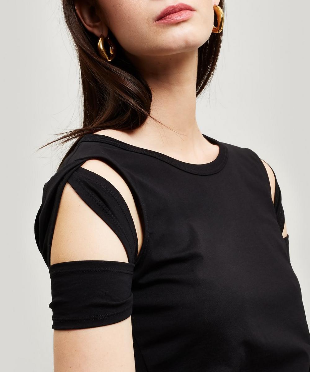 Bondage Sleeve Cotton T-Shirt