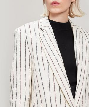 Elder Stripe Wool-Blend Jacket
