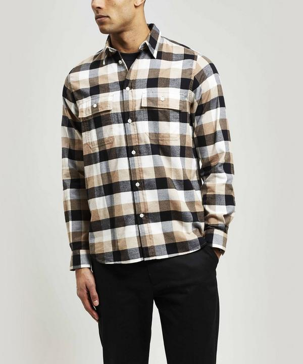 Villads Brushed Cotton Check Shirt