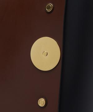 Disc-Embellished Tote Bag