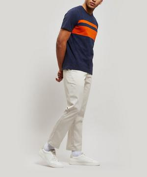 Conduit Stripe Cotton T-Shirt