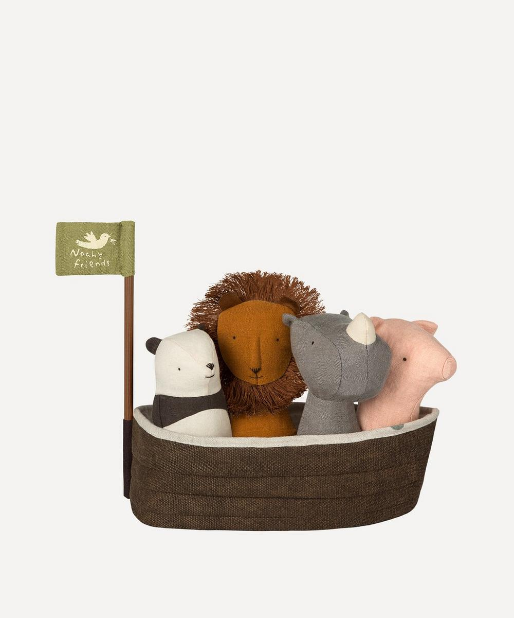 Maileg - Noah's Ark with 4 Rattles