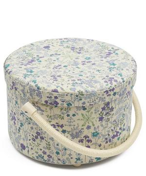 Field Flowers Print Sewing Box