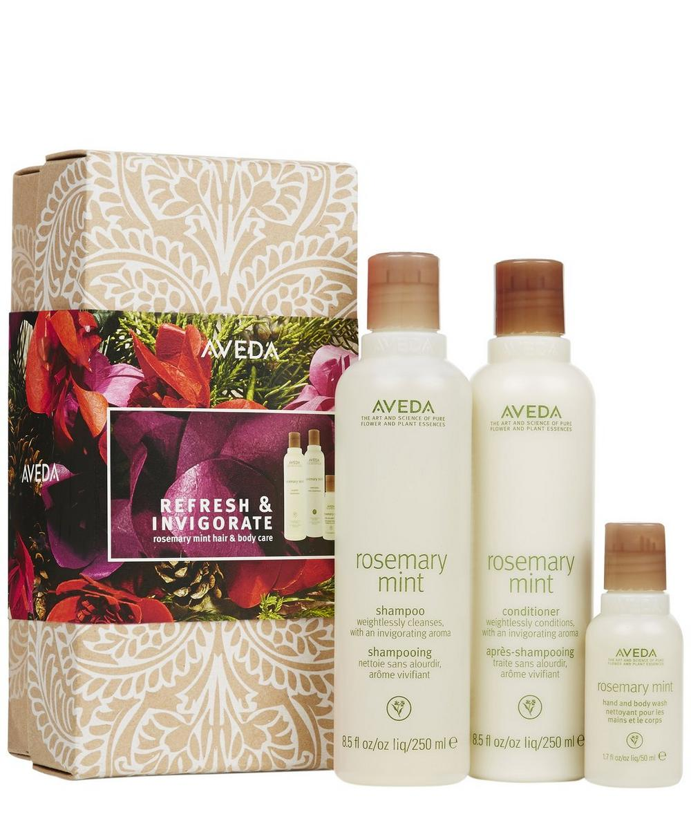 Refresh & Invigorate Limited Edition Rosemary Mint Gift Set