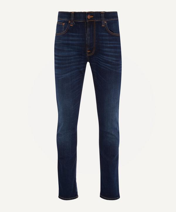 Nudie Jeans - Lean Dean Dark Deep Worn Jeans