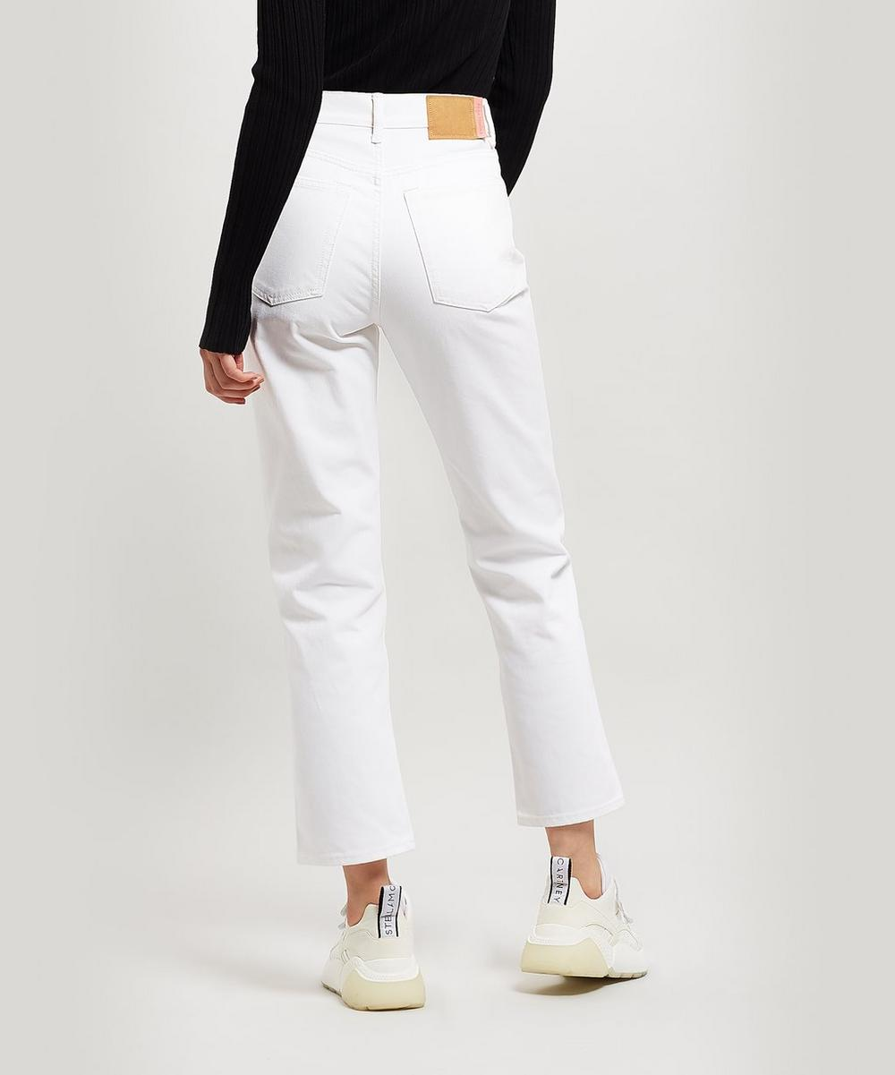 Mece High-Rise Straight Crop Jeans