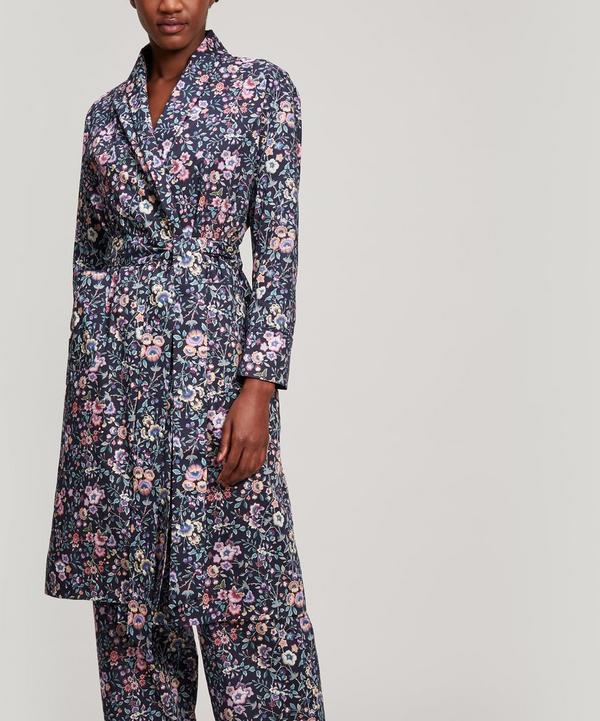 Delilah Tana Lawn Cotton Long Robe