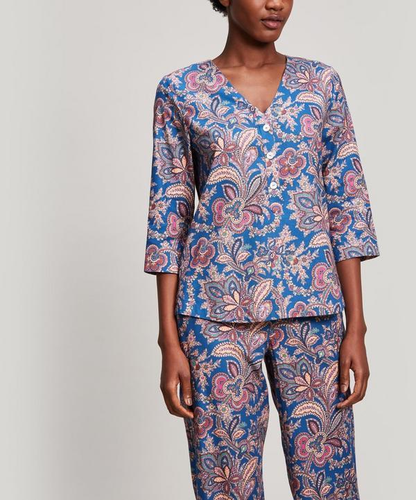Mala Brushed Cotton Long Pyjama Set