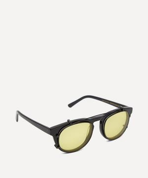 Timeless Acetate Clip-On Lens Sunglasses