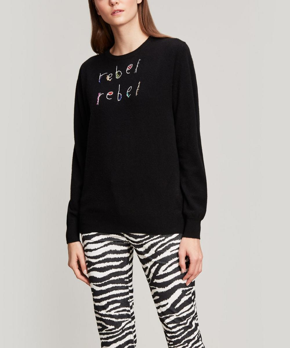 Rebel Rebel Glow In The Dark Cashmere Knit