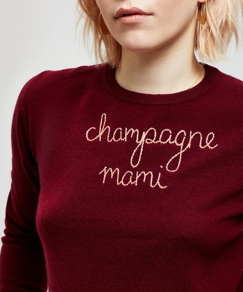 Champagne Mami Cashmere Jumper