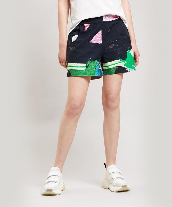 86ca33cfb9c0 Alfie Print Shorts ...