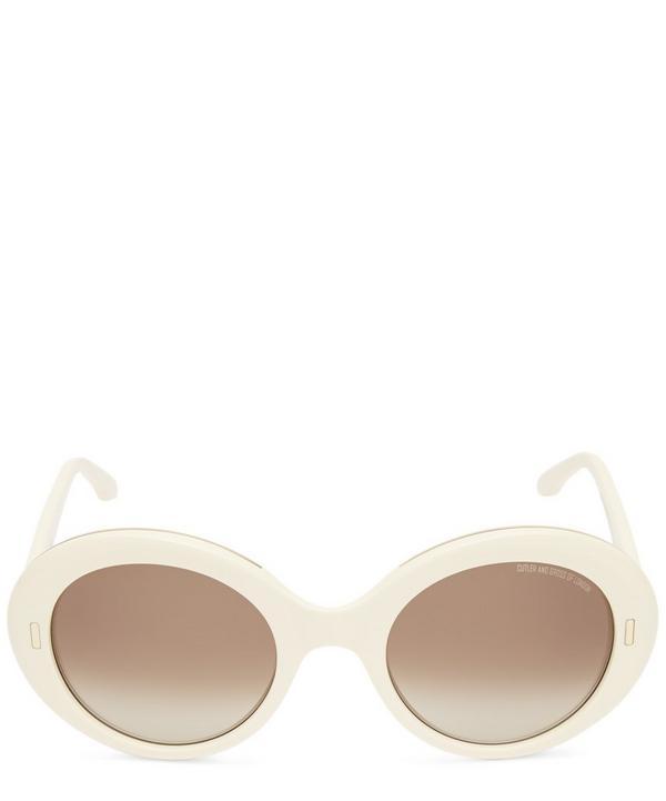 f975ac8adaa Oversized Oval Retro Sunglasses ...