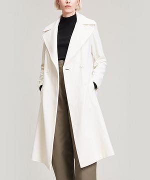 Wool and Cashmere-Blend Long Coat