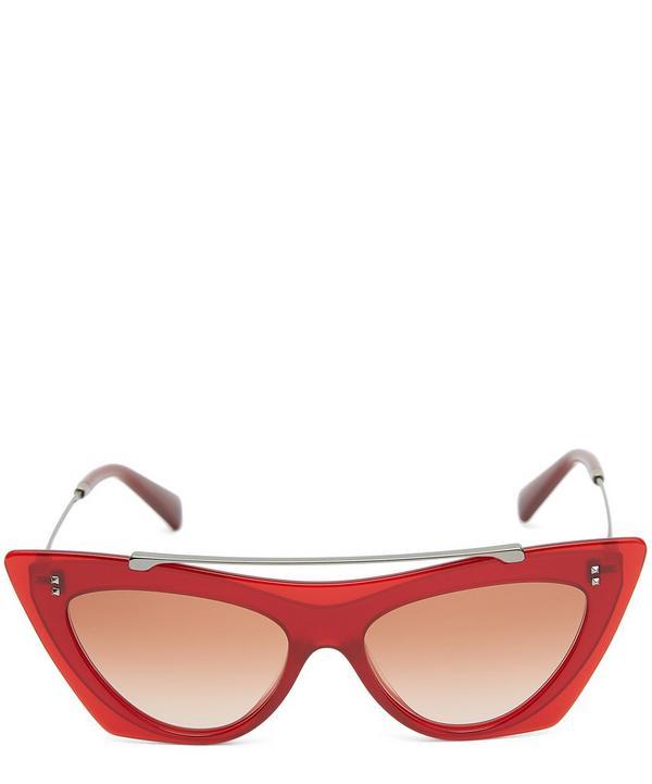 077630f430 Aviator Cat-Eye Sunglasses ...
