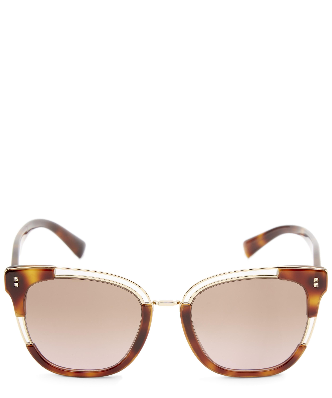 b70a5b3438 Two-Tone Square Sunglasses