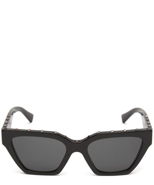 b295a365ca Angular Acetate Rockstud Sunglasses ...