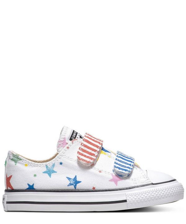 d17538e0afc0c0 Converse Chuck Taylor Velcro Strap Star Sneakers Size 20-26 ...