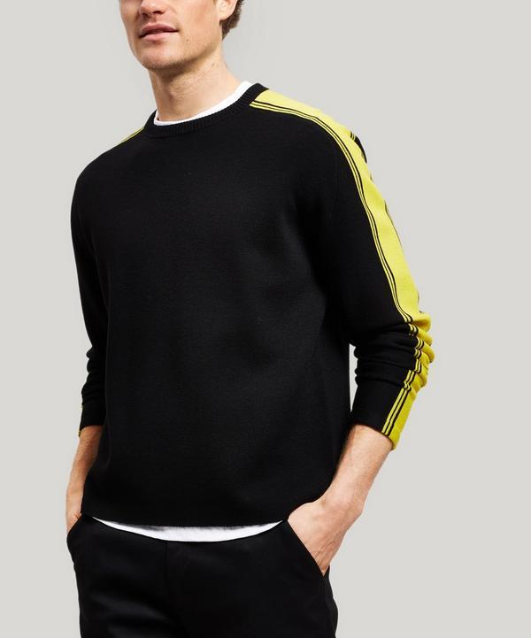 62511f0c6df8 Striped Sports Wool Sweater ...