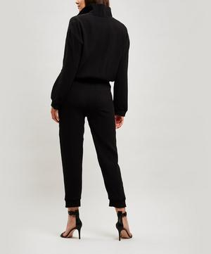 Mercury Pleat Sweat Jumpsuit