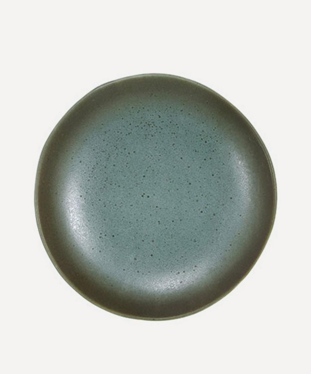 '70s Ceramic Dessert Plate