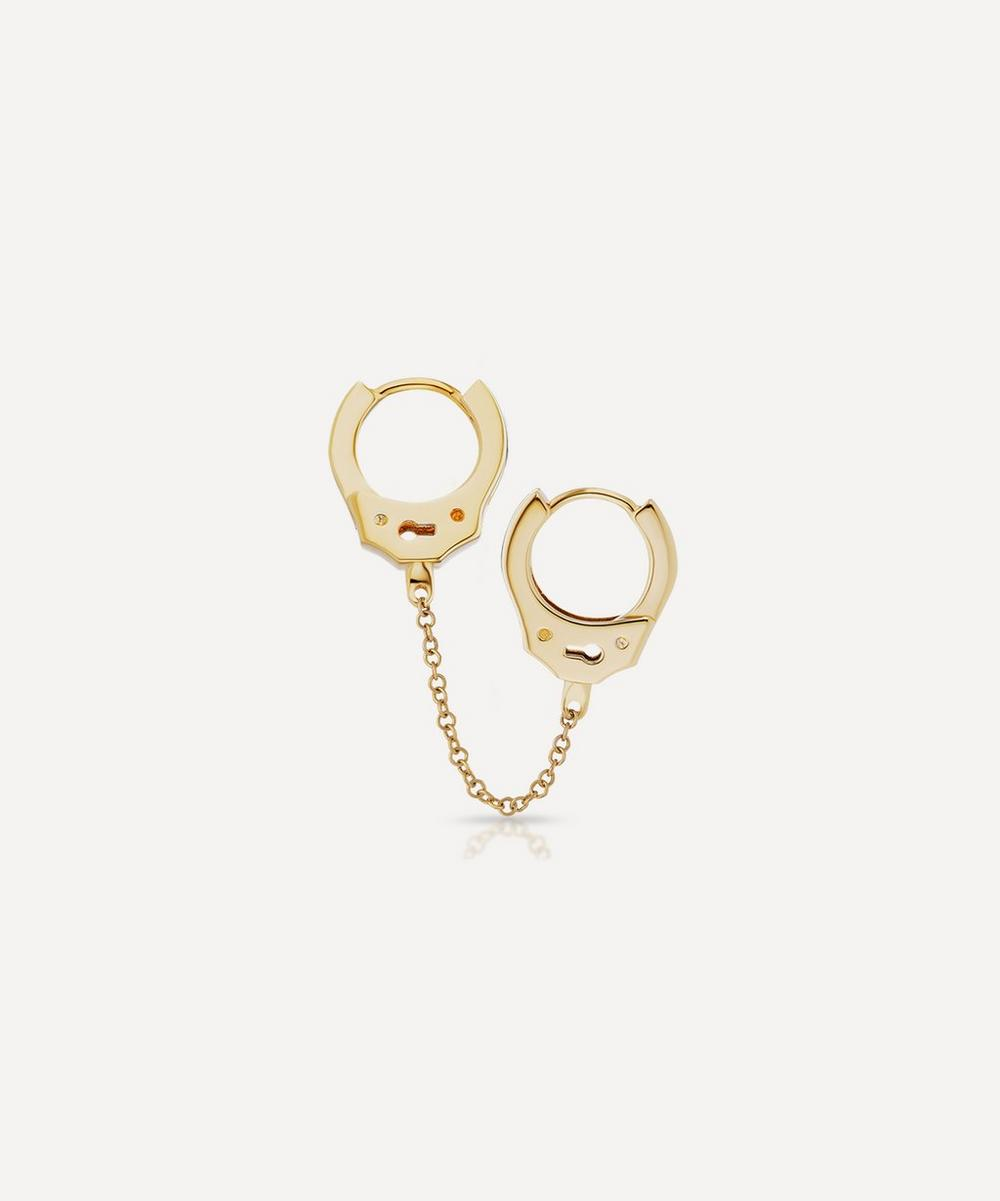 Double Handcuff and Medium Chain Earring