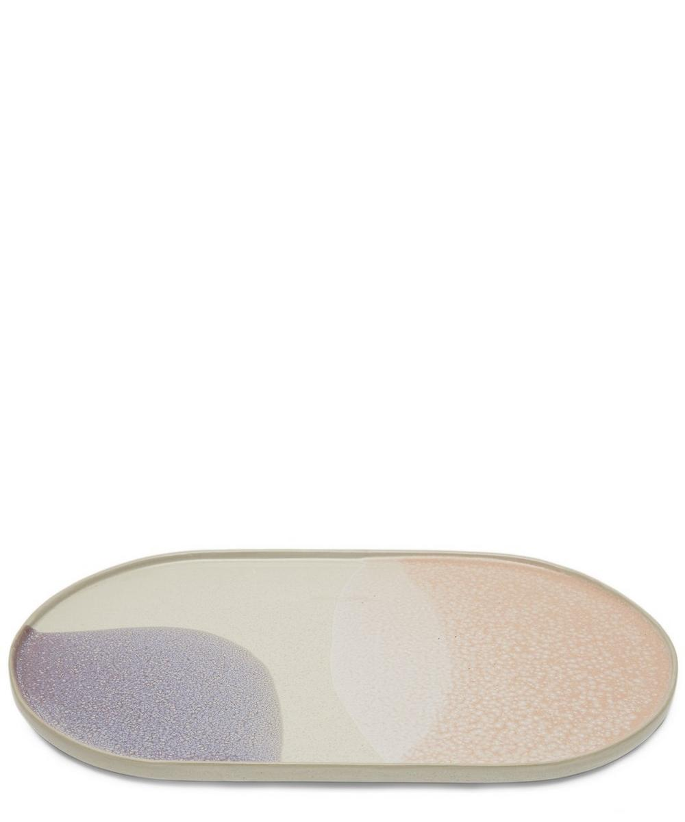 Gallery Ceramics Oval Dinner Plate