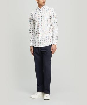 People Print Cotton Shirt