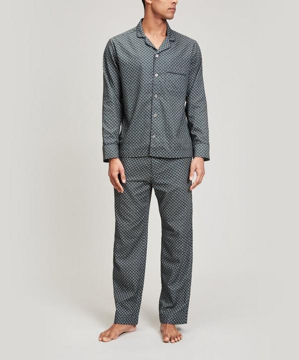 Juno Brushed Cotton Long Pyjama Set