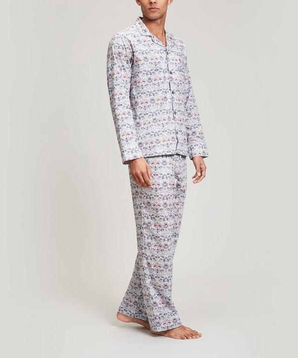 Strawberry Thief Tana Lawn Cotton Long Pyjama Set