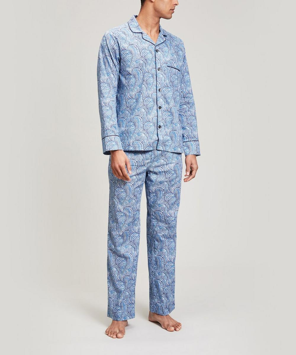 Oscar Tana Lawn Cotton Long Pyjama Set