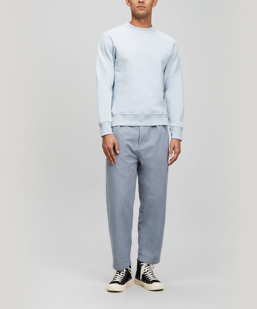 Cotton Crew-Neck Sweater