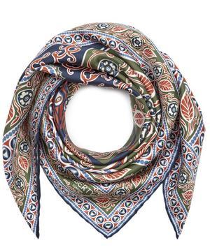 Francis 70 x 70cm Silk Twill Foulard Scarf