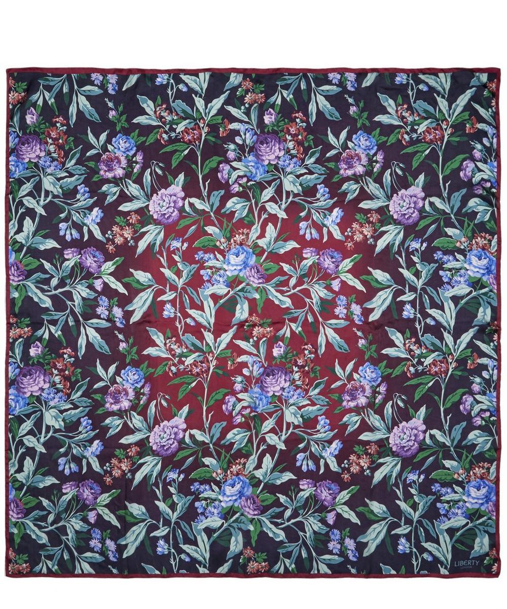 Desert Rose 140 x 140cm Silk Chiffon Scarf
