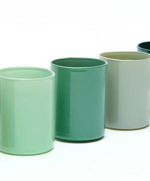 Spot Votive Glass Tealight Holders Set of Five