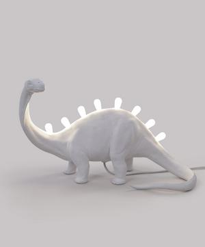 Jurassic Brontosaurus Resin Lamp
