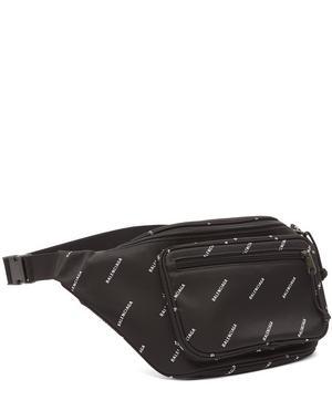 Logo Printed Belt Bag