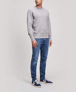Fayze Small Logo Cotton Sweater