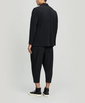 Core Pleated Blazer