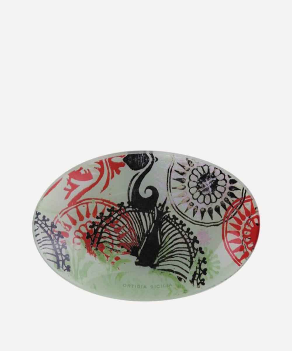 Fico d'India Glass Dish and Soap