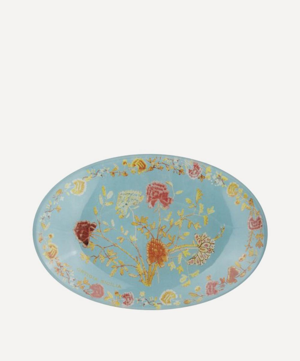 Florio Glass Dish and Soap