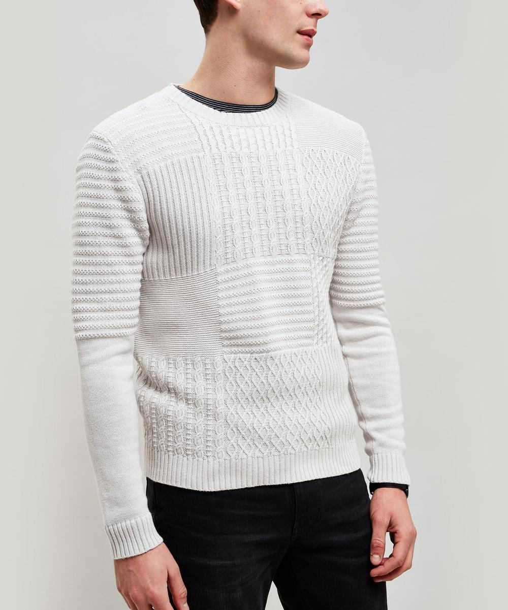Saturdays Surf Nyc Sweaters EVERYDAY MULTI STITCH SWEATER