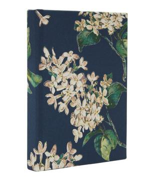 Archive Lilac Print Cotton Small Pocket Notebook