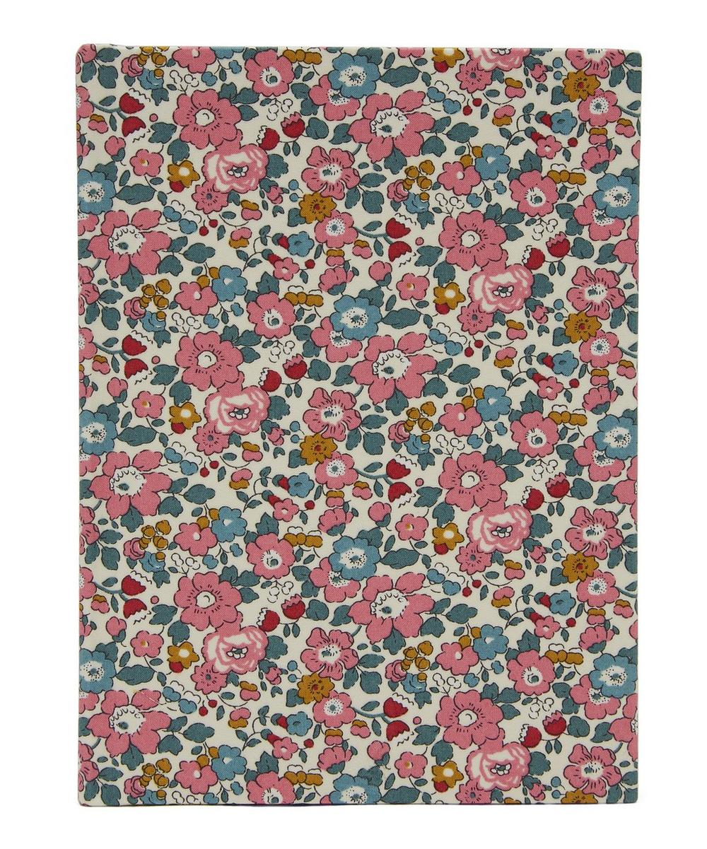 Betsy Anne Print Cotton Small Pocket Notebook