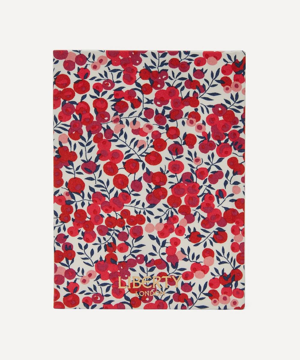 Wiltshire Print Cotton Small Pocket Notebook