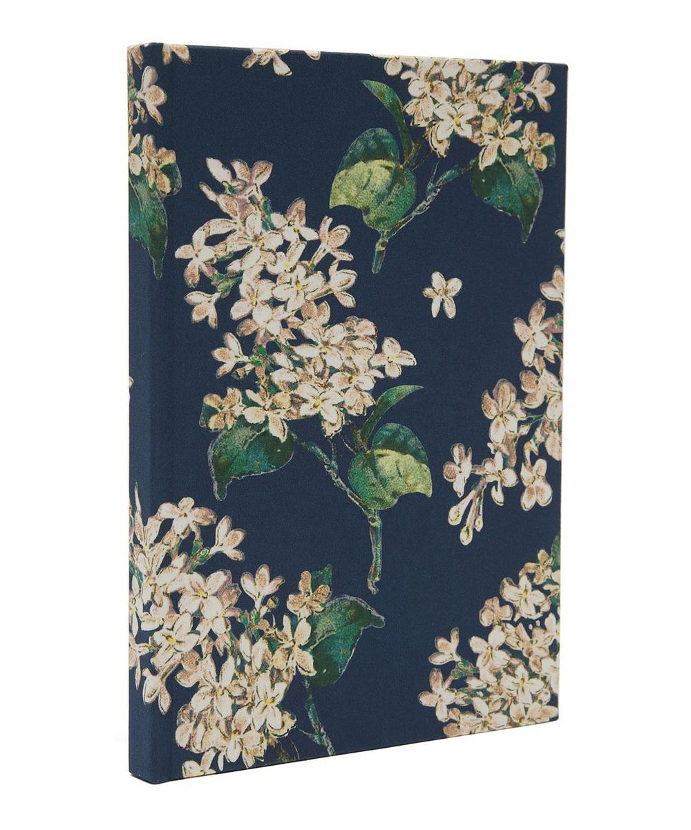 Archive Lilac Print Cotton A5 Notebook