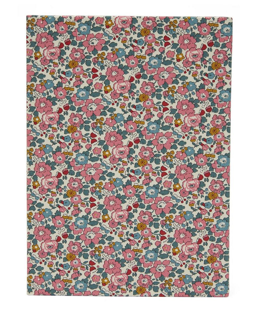Betsy Anne Print Cotton A5 Notebook