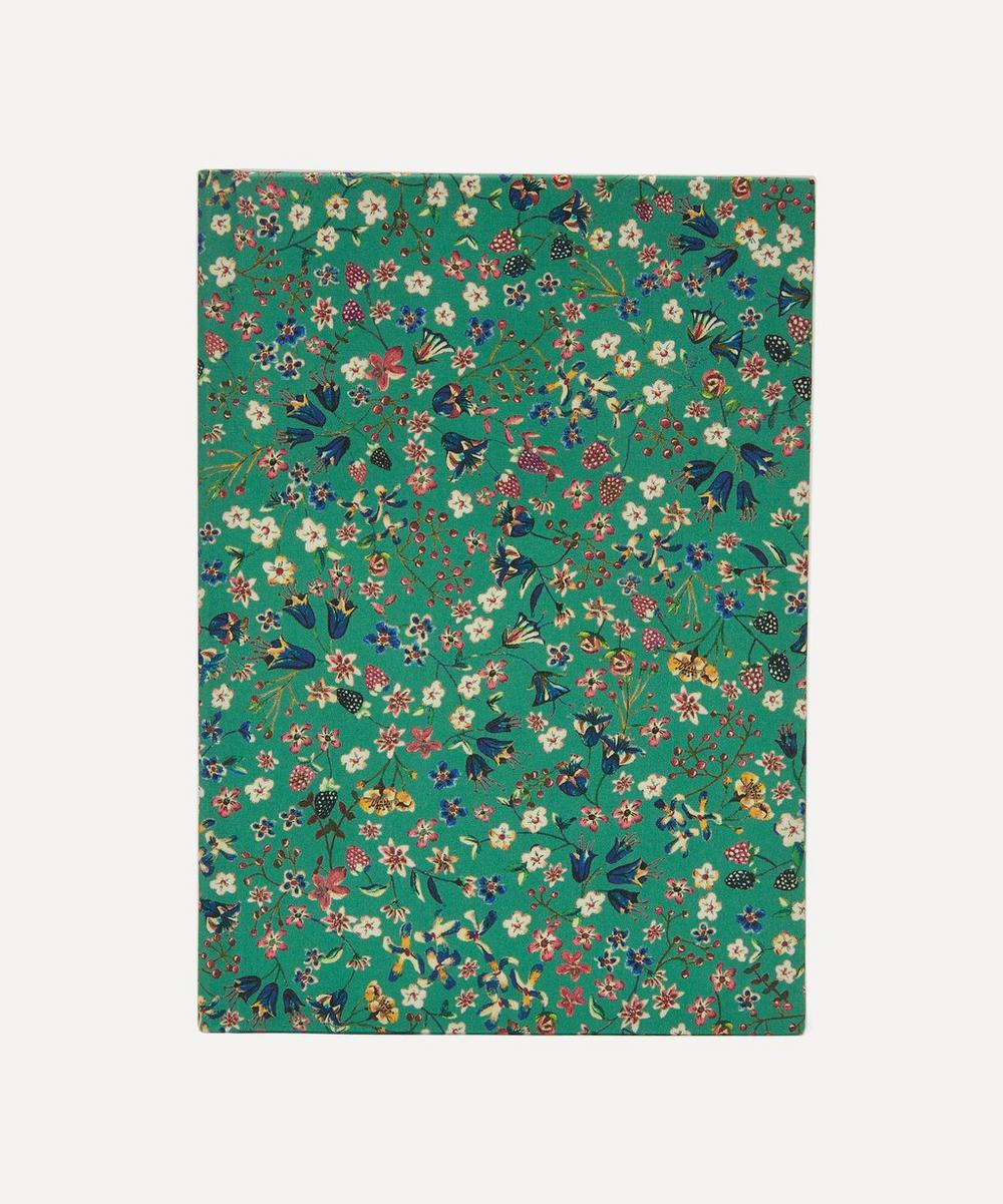 Liberty - Donna Leigh Print Cotton A5 Lined Journal