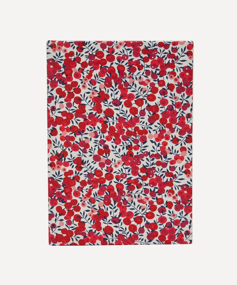Wiltshire Print Cotton A5 Lined Journal