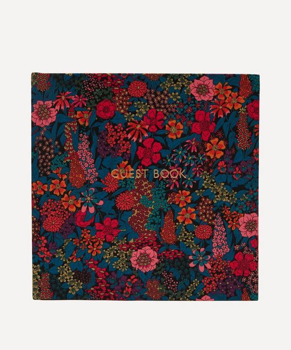 Ciara Print Cotton Square Guest Book